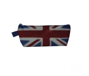 Neceseres con logo de bandera inglesa