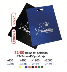 Bolsa de tela con logo stock 32-00