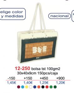 Bolsa de tela con logo 121-250