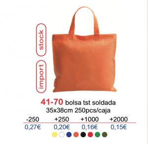 Bolsa de tela con logo 41-70